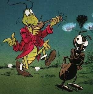 La cigale et la fourmi avec commentaires - Dessin d une fourmi ...